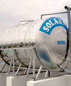 Bồn nước Solarkyo INOX 304 ngang